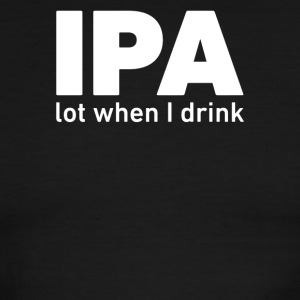 IPA Lost When I Drink - Men's Ringer T-Shirt