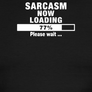 Sarcasm Loading - Men's Ringer T-Shirt