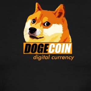 Dogecoin Digital Currency - Men's Ringer T-Shirt