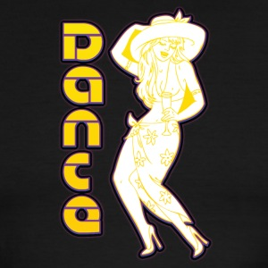 pin_up_dance - Men's Ringer T-Shirt