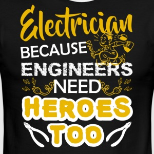 Electrician Tee Shirt - Men's Ringer T-Shirt