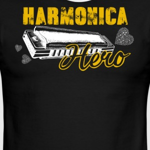 Harmonica Hero Shirt - Men's Ringer T-Shirt