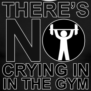 There's No Crying In The Gym - Men's Ringer T-Shirt