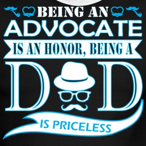 Being Advocate Is Honor Being Dad Priceless - Men's Ringer T-Shirt
