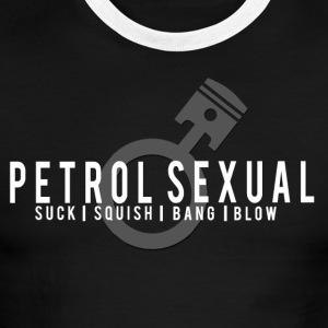 PETROL SEXUAL - Men's Ringer T-Shirt