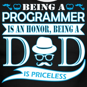Being Programmer Is Honor Being Dad Priceless - Men's Ringer T-Shirt