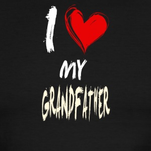 I love my GRANDFATHER - Men's Ringer T-Shirt