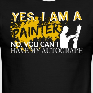 I Am A Painter Shirt - Men's Ringer T-Shirt