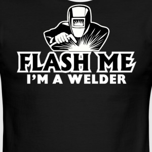 Flash ME I'm a Welder T-Shirt - Men's Ringer T-Shirt