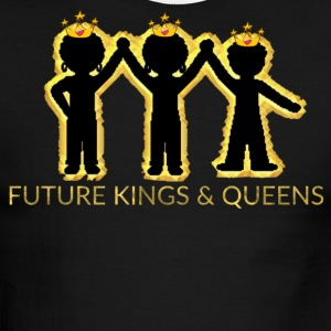 FUTURE KINGS AND QUEENS KIDS - Men's Ringer T-Shirt