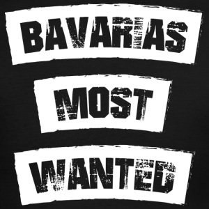 Bavarias most Wanted! Funny! - Men's Ringer T-Shirt