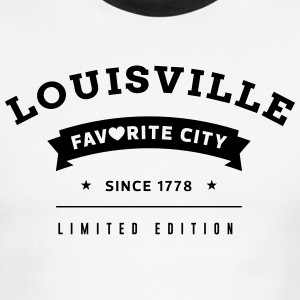 Favorite City Louisville - Men's Ringer T-Shirt
