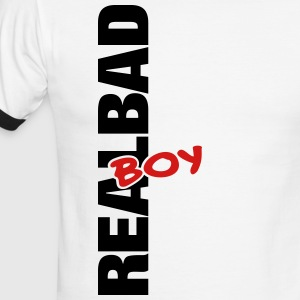 real bad boy - Men's Ringer T-Shirt