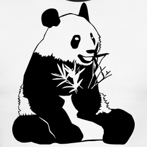 Panda - Men's Ringer T-Shirt