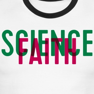 Science or faith? - Men's Ringer T-Shirt