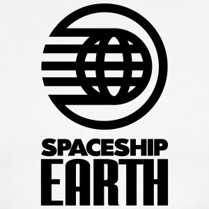 SPACESHIP EARTH - Men's Ringer T-Shirt
