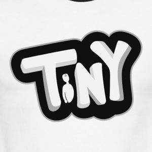 Tiny-Logo - Men's Ringer T-Shirt