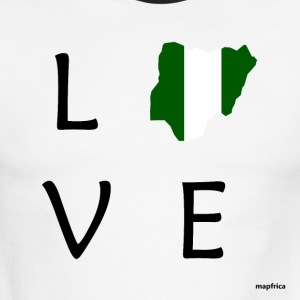 Nigeria Love - Men's Ringer T-Shirt