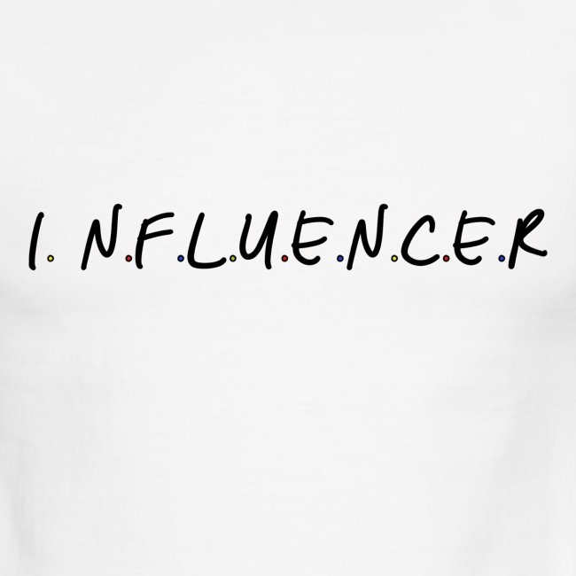 Influencer Friends Inspired Tee