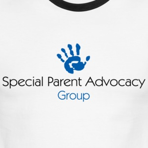 Special Parent Advocacy Group Logo - Men's Ringer T-Shirt