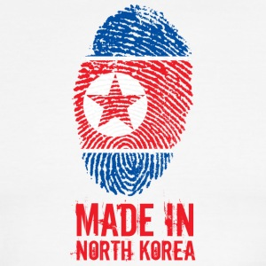 Made In North Korea / 조선민주주의인민공화국 - Men's Ringer T-Shirt