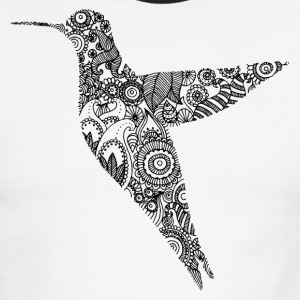 Humming bird - Men's Ringer T-Shirt