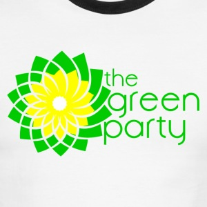 The Green Parti I - Men's Ringer T-Shirt