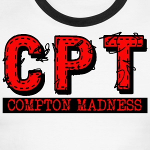 CPT COMPTON MADNESS - Men's Ringer T-Shirt