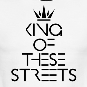 MOCC King Of These Streets - Men's Ringer T-Shirt