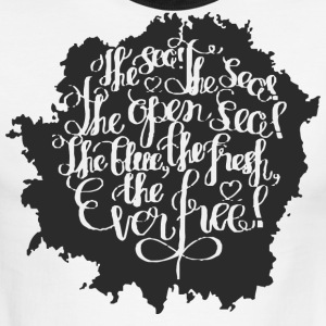 The sea the sea - Men's Ringer T-Shirt