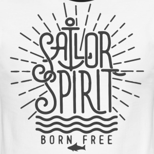 Sailor spirit - Men's Ringer T-Shirt