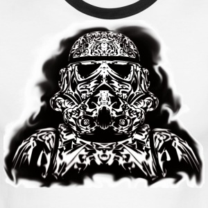Tribal Stormtrooper - Men's Ringer T-Shirt