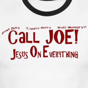 Call Joe - Men's Ringer T-Shirt