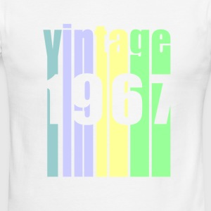 Retro Vintage 1967 T-Shirt 50 yrs old Bday 50th - Men's Ringer T-Shirt