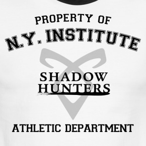 Shadowhunters - Property Of The New York Institute - Men's Ringer T-Shirt