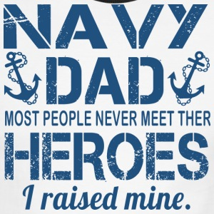 THE NAVY 039 S DAD T Shirt - Men's Ringer T-Shirt