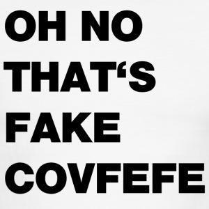 fake covfefe - Men's Ringer T-Shirt