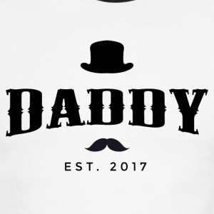DADDY est.2017 - Men's Ringer T-Shirt