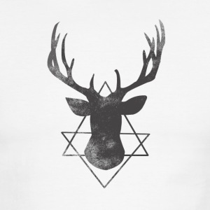 Vintage deer - Men's Ringer T-Shirt