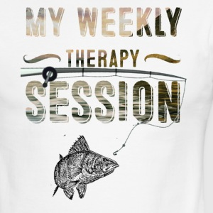 IMG 3825 my weekly therapy session - Men's Ringer T-Shirt