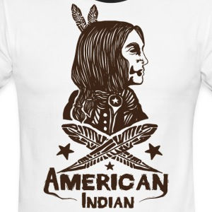 American Indian - Men's Ringer T-Shirt
