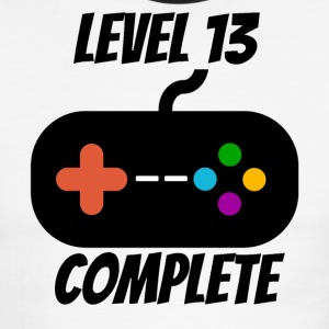 Level 13 Complete 13th Birthday - Men's Ringer T-Shirt