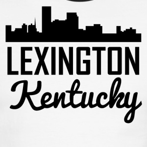 Lexington Kentucky Skyline - Men's Ringer T-Shirt