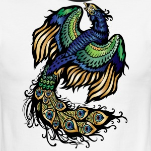 PEACOCK IMPERIAL CREATORS - Men's Ringer T-Shirt