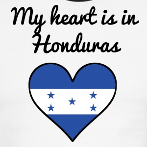 My Heart Is In Honduras - Men's Ringer T-Shirt