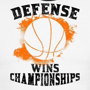 Defense Wins Championships - Men's Ringer T-Shirt