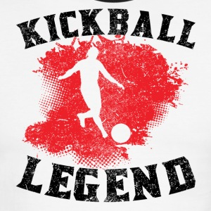 Kickball Legend - Men's Ringer T-Shirt