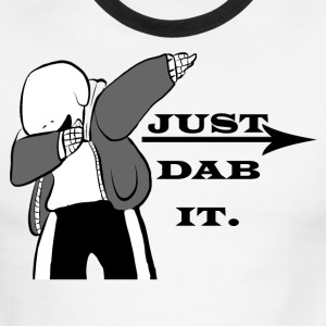 just dab it - Men's Ringer T-Shirt