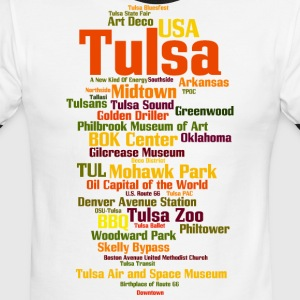 Tulsa (Oklahoma, USA, Oil Capital) - Men's Ringer T-Shirt