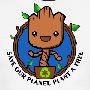 Save the planet - Men's Ringer T-Shirt